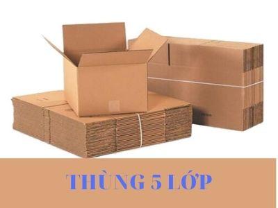 Thùng carton 5 lớp. Nhà máy sản xuất thùng carton giá rẻ CVC Global